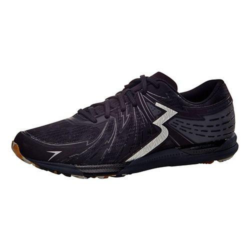Mens 361 Degrees Bio-Speed 2 Running Shoe - Black/Ebony 11