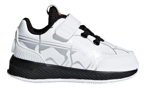 Kids adidas Starwars Rapidarun Running Shoe - White/Black/Scarlet 9.5C