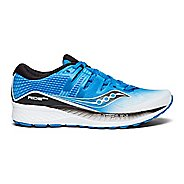 Mens Saucony Ride ISO Running Shoe - Blue/White 10.5