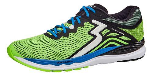 Mens 361 Degrees Sensation 3 Running Shoe - Gecko/Black 13