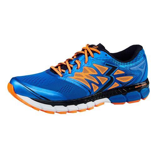 Mens 361 Degrees Strata 2 Running Shoe - Ocean Blue/Black 10.5