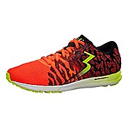 Womens 361 Degrees Chaser 2 Running Shoe - Hazard/Black 8
