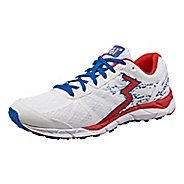Womens 361 Degrees Feisu Running Shoe - White/Risk Red 12