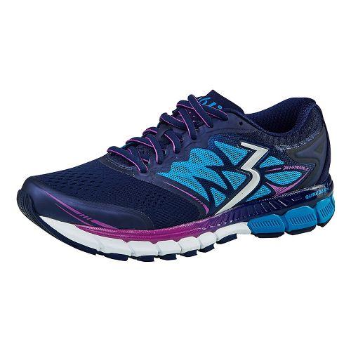 Womens 361 Degrees Strata 2 Running Shoe - Dark Blue 10.5
