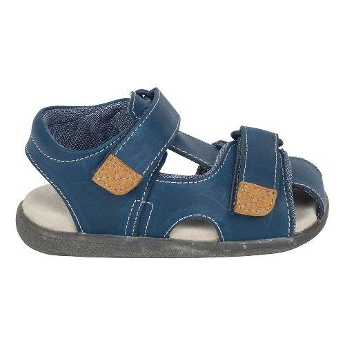 Boys See Kai Run Corey Sandals Shoe - Blue 9C