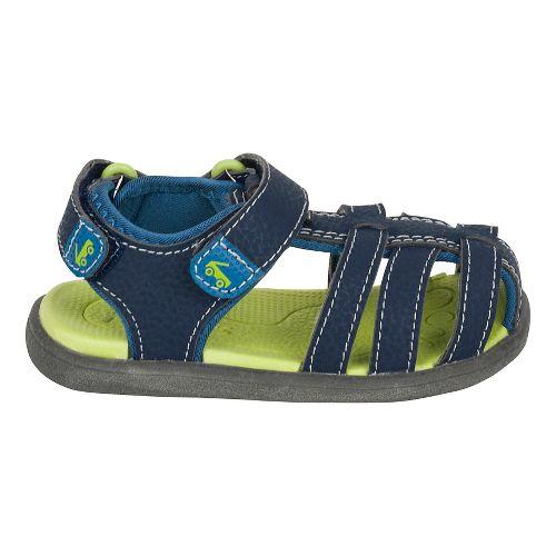 Boys See Kai Run Cyrus II Sandals Shoe - Navy 7C