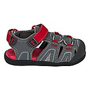 Girls See Kai Run Lincoln III Sandals Shoe - Grey 4C