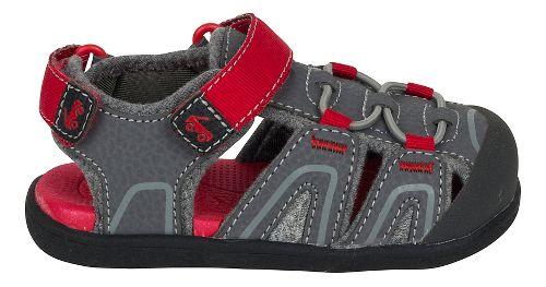 Girls See Kai Run Lincoln III Sandals Shoe - Grey 6C