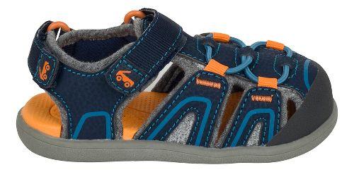 Girls See Kai Run Lincoln III Sandals Shoe - Blue 5C