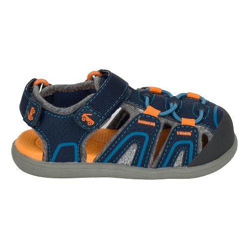 Girls See Kai Run Lincoln III Sandals Shoe - Blue 6C