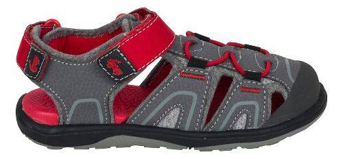 Boys See Kai Run Lincoln III Sandals Shoe - Grey 12C
