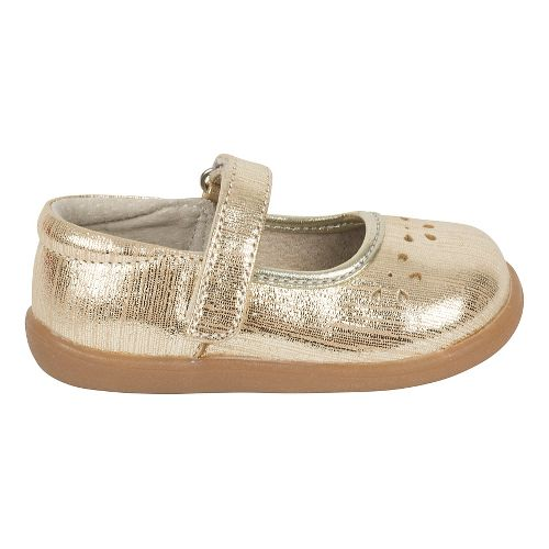 Girls See Kai Run Ginger III Casual Shoe - Gold 5C