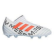 Kids adidas Nemeziz 17+ 360 Agility Firm Ground Cleated Shoe - White/Warning/Grey 6Y