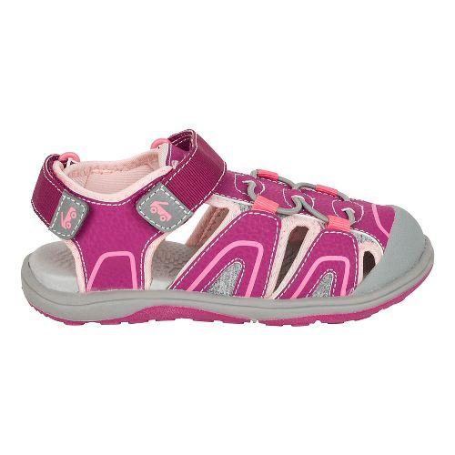 Girls See Kai Run Lincoln III Sandals Shoe - Magenta 11C