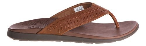 Mens Chaco Jackson Sandals Shoe - Rust 7