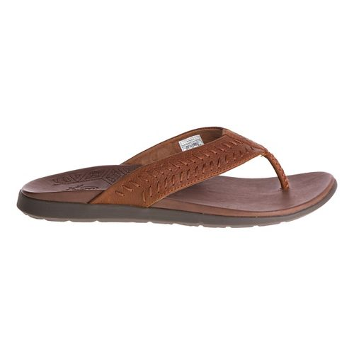 Mens Chaco Jackson Sandals Shoe - Rust 14