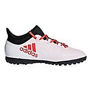 Kids adidas X Tango 18.3 Turf Cleated Shoe - Grey/Black 6Y