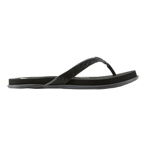 Womens adidas Cloudfoam One Sandals Shoe - Black/White/Grey 6