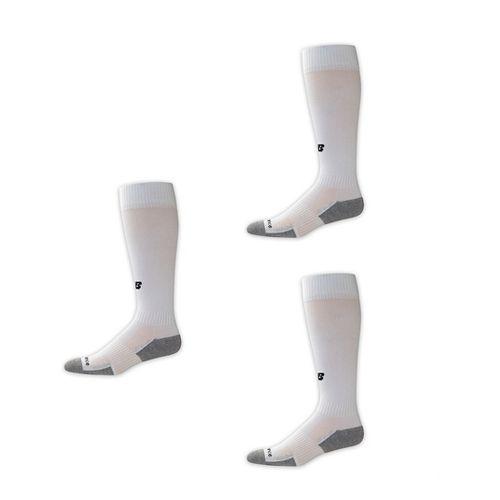 New Balance Performance All Sport Over the Calf Sock 3 Pack Socks - White XL