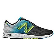 Mens New Balance 1400v6 Racing Shoe - Blue/Black/Hi-Lite 8.5