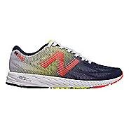 Womens New Balance 1400v6 Racing Shoe - White/Coral 6