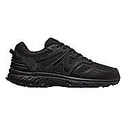 Mens New Balance T510v4 Trail Running Shoe - Black/Magnet 11.5