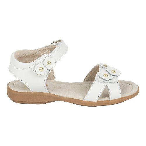 Girls See Kai Run Olivia Sandals Shoe - White 9.5C