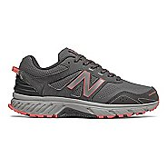Womens New Balance T510v4 Trail Running Shoe - Black/Magnet 7