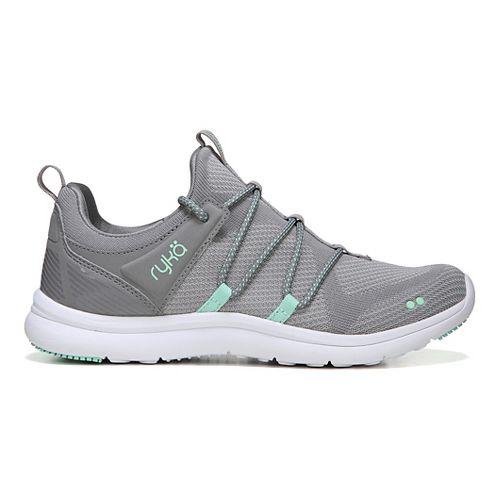 Womens Ryka Caprice Walking Shoe - Grey Mint Silver 8