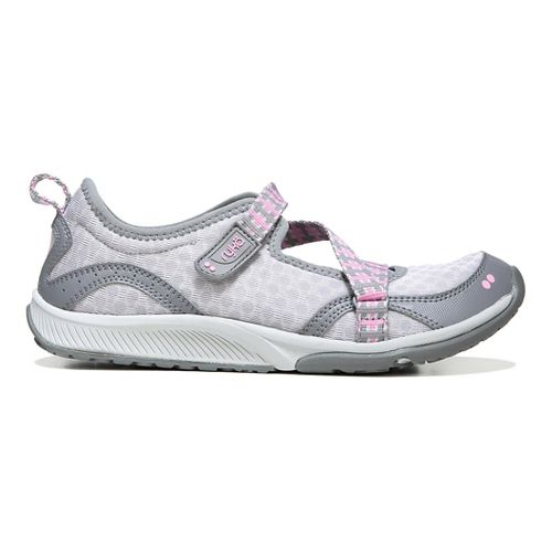 Womens Ryka Kailee Walking Shoe - Grey/Pink/Grey 5