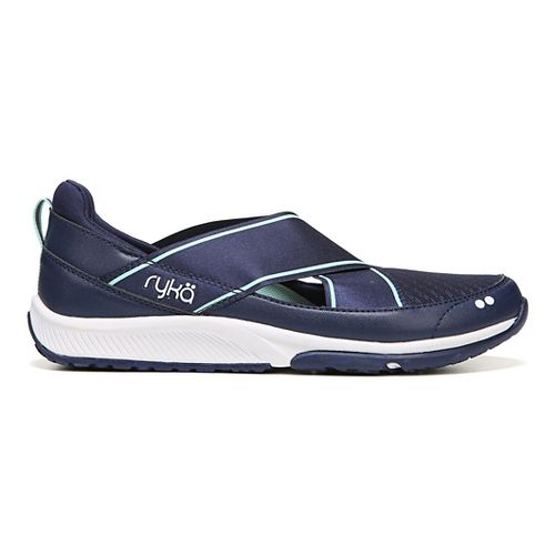 Womens Ryka Klick Casual Shoe - Blue/White 10
