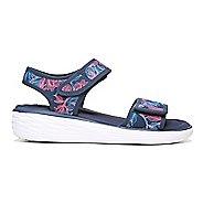 Womens Ryka Nora Casual Shoe - White/Grey/Blue 10