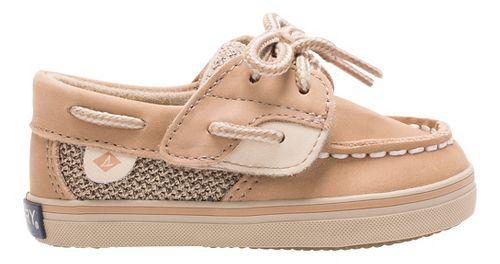 Girls Sperry Bluefish Crib Jr Casual Shoe - Linen/Oat 1C