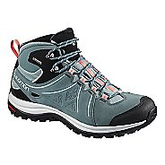 Womens Salomon Ellipse 2 Mid LTR GTX Hiking Shoe - Coral Almond 10
