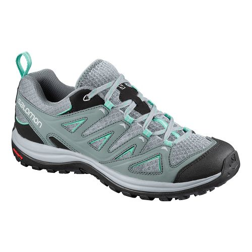Womens Salomon Ellipse 3 Aero USA Hiking Shoe - Stormy Atlantis 9