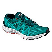 Womens Salomon Crossamphibian Swift Trail Running Shoe - Peacock Blue 8.5