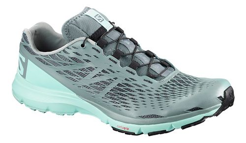 Womens Salomon XA Amphib Trail Running Shoe - Canal Blue 6.5