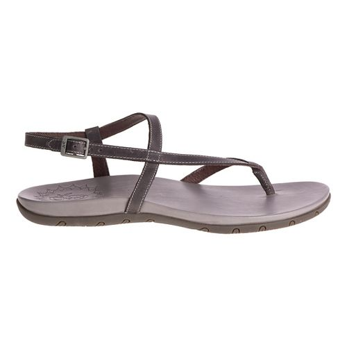 Womens Chaco Rowan Sandals Shoe - Grey 5