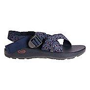 Mens Chaco Mega Z Cloud Sandals Shoe - Motif Navy 8
