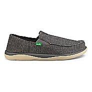 Mens Sanuk Vagabond Tripper Grain Slub Casual Shoe - Charcoal 10