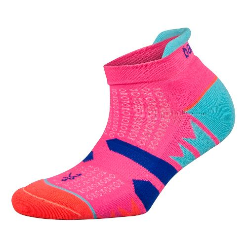 Womens Balega Enduro V-Tech No Show Socks - Watermelon/Orange S