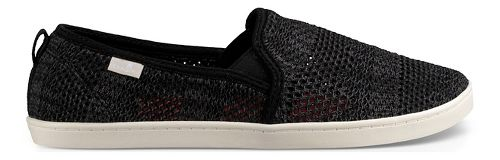 Womens Sanuk Brook Knit Casual Shoe - Black 8