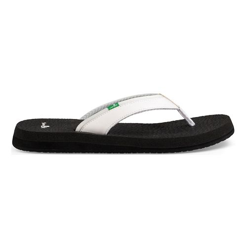 Womens Sanuk Yoga Mat 2 Sandals Shoe - White 8