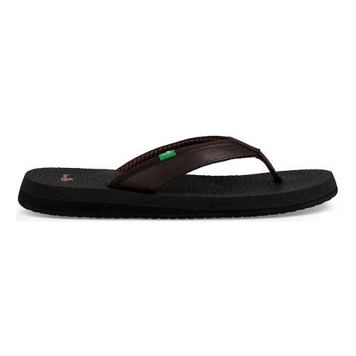 Womens Sanuk Yoga Mat 2 Sandals Shoe - Black 9