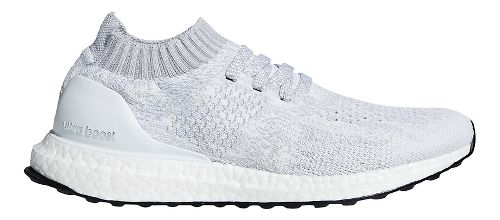 Womens adidas Ultraboost Uncaged Running Shoe - White/White/Grey 8.5
