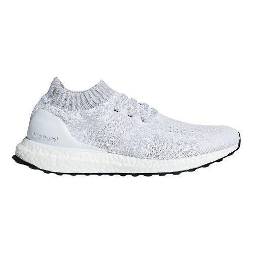 Womens adidas Ultraboost Uncaged Running Shoe - White/White/Grey 11