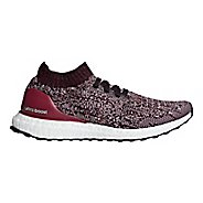 Womens adidas Ultraboost Uncaged Running Shoe - Grey/Red/Ruby 9