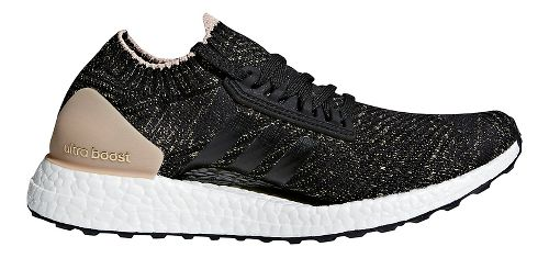 Womens adidas Ultra Boost X Ltd Running Shoe - Carbon/Carbon/Pearl 9.5