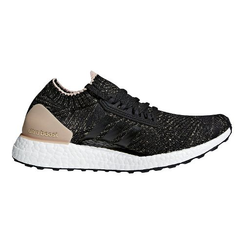 Womens adidas Ultra Boost X Ltd Running Shoe - Carbon/Carbon/Pearl 10.5