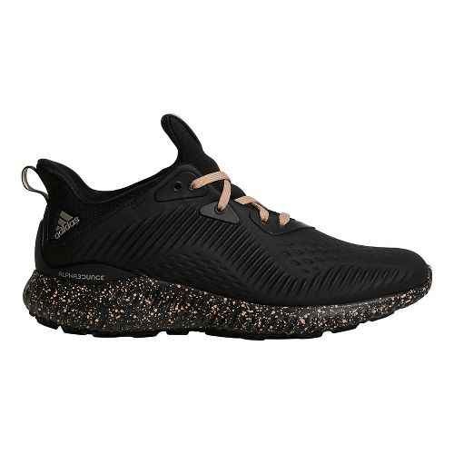 Womens adidas AlphaBounce 1 Running Shoe - Black/Ash Pearl 10